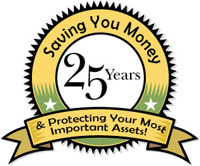 Saving you money for over 25 years!