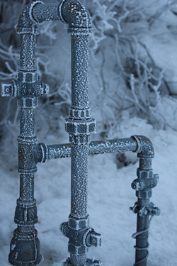 Freezing temperatures may wreak havoc on your home, leading to interruptions in water flow or pipe bursts.