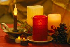 December is peak month for candle fires, but they can be prevented.